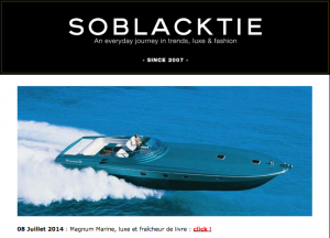 Magnum Marine Included In SOBLACKTIE's 2014 Retrospective