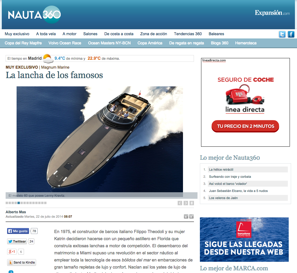 Magnum Marine Featured On Nauta 360