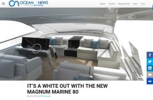 Ocean Of News Features White Magnum Marine 80