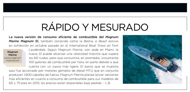 Robb Report Mexico Features Magnum 51 in Ultimate Gift Edition