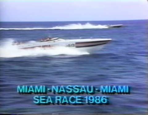 Magnum Marine at Miami - Nassau - Miami Sea Races2
