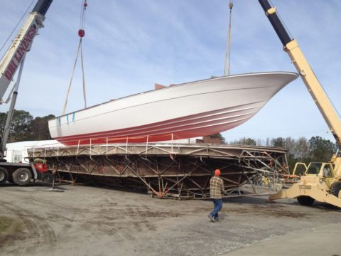Upcoming New Magnum 70 Hull and Construction Process