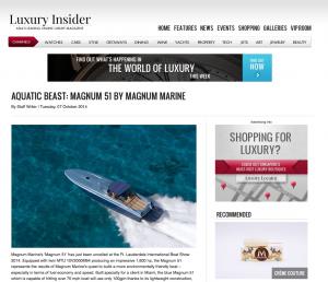 Aquatic Beast: Magnum 51 by Magnum Marine