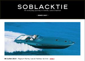 Magnum Marine Included In SOBLACKTIE's 2014 Retrospective