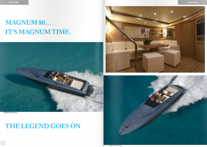 Magnum Marine Launches Yacht in Coolture Magazine