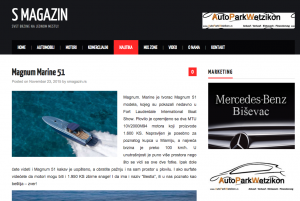Magnum 51 Featured on S Magazin