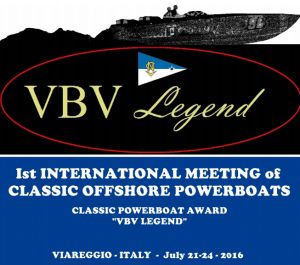 VBV Legend 2016 - 1st International Meeting of Classic Offshore Powerboats